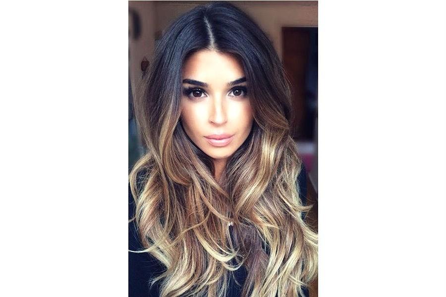Модные прически для средних и длинных волос 115