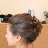 Модернизированный пучок на средние волосы 2
