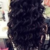 Завивка волос на крупные локоны с помощью фольги