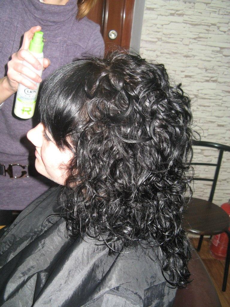 Завивка на окрашенный волос (Ниагара)