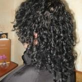 Химическая завивка на окрашенный волос
