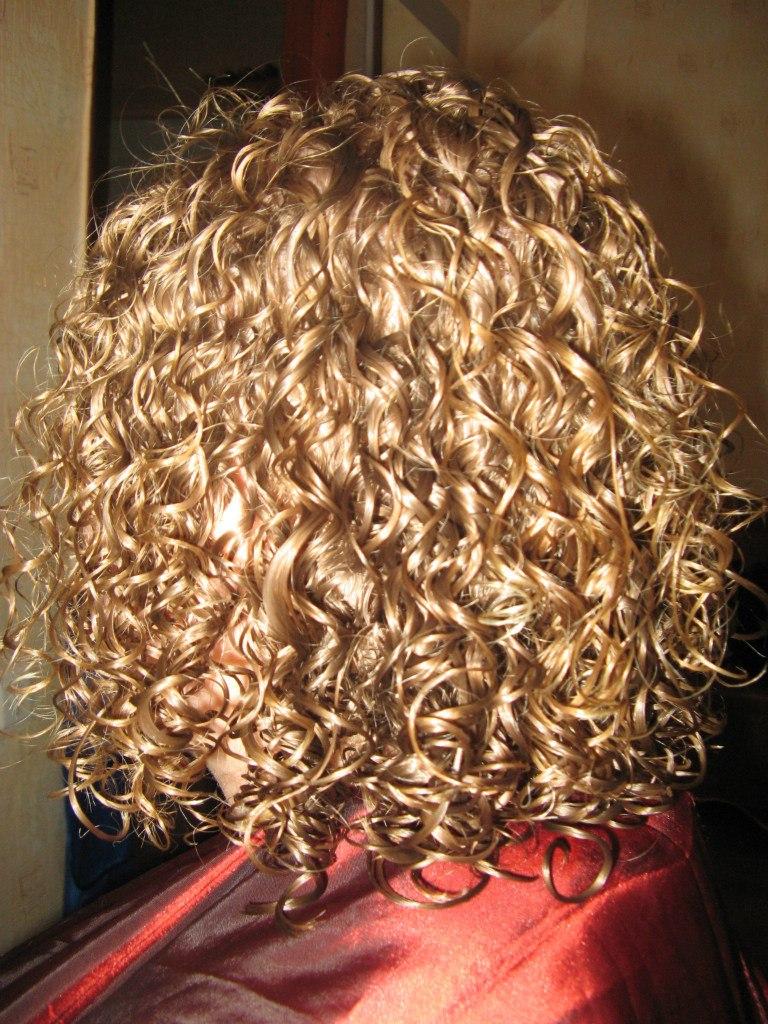 Завивка на натуральный волос