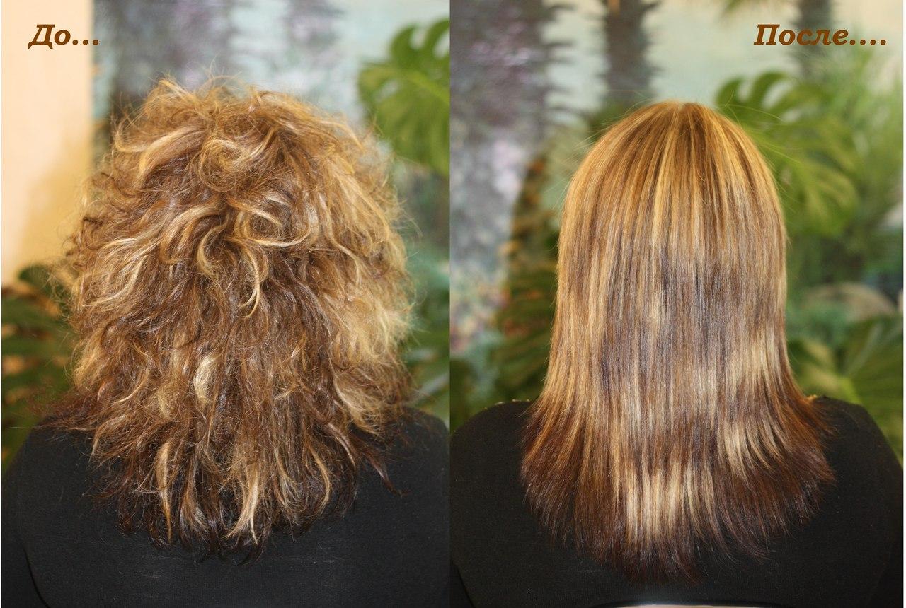 Чем отличается ламинирование волос от кератинового выпрямления