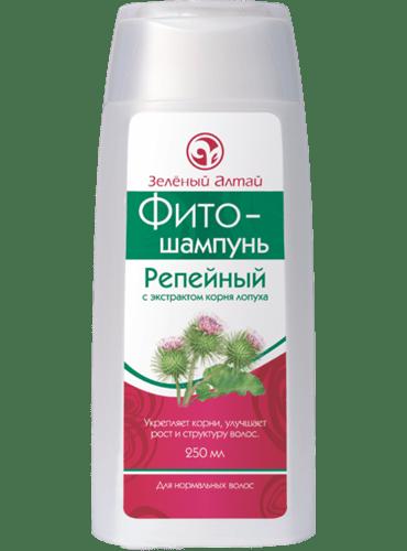 Репейный шампунь Зеленый Алтай