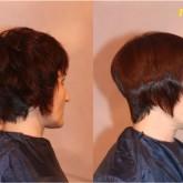 Кератиновое выпрямление коротких волос