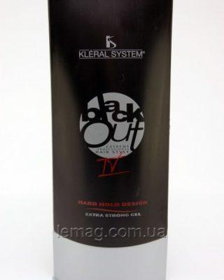 """Крем-гель Kleral System BLACKOUT Extra Style для создания эффекта """"мокрых волос"""""""