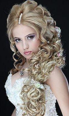 Прически пышные на средние волосы фото