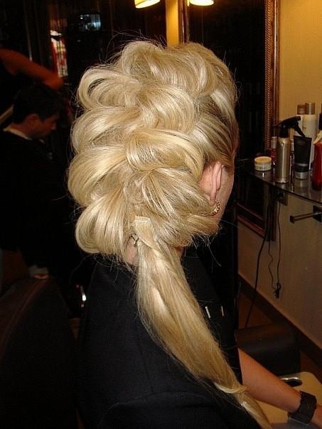 Фото прически на жидкие длинные волосы