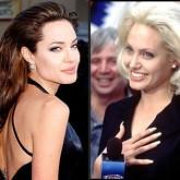 Вот такой контраст брюнетки-блондинки Джоли