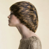 Данная стрижка идеальна для контрастного окрашивания волос