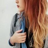 Высветление кончиков волос поможет придать зрительный объем прическе