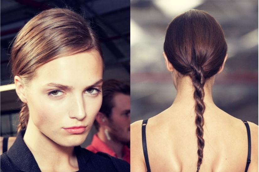 Плетение косы тонкие волосы
