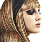 Классическое мелирование на длинных волосах