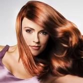 Блестящие рыжие волосы смотрятся еще более эффектно
