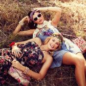 Прически хиппи – выбор современных модниц
