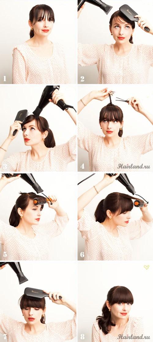 Как подстричь челку красиво и правильно | ВолосоМагия Челка 2014