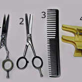 Необходимые инстурменты для выравнивания челки