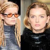 Помимо ободка можно использовать собственную косу, которая придаст больше женственности