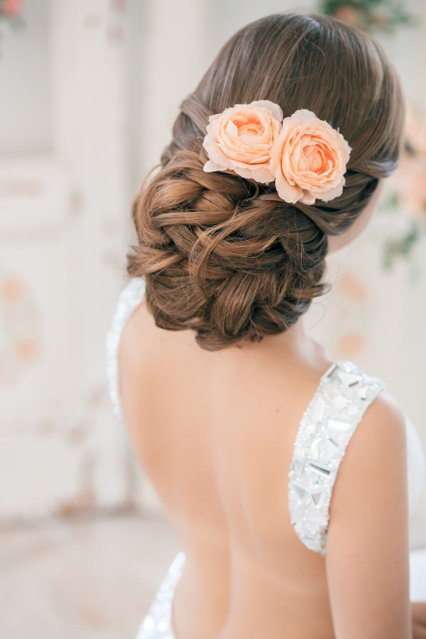 27 Wedding Hairstyles That Work Well With Veils  Brides