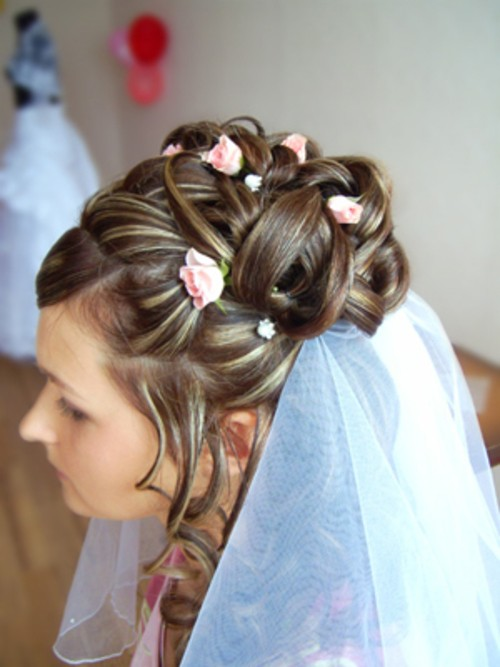 Причёски на свадьбу фото своими руками