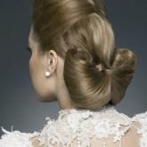 Невероятно стильная ретро прическа на свадьбу