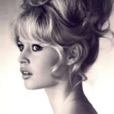 Бабетта на красивых локонах Бриджит Бардо