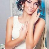 Классическая греческая прическа на свадьбу