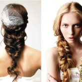 Оригинальная коса на свадьбу создаст неповторимый образ