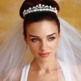 Изящный объемный пучок - класический свадебный образ