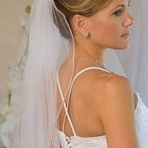 Высокая прическа на свадьбу - превосходный выбор невесты
