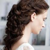 Необычное пышное плетение - идеал любой невесты