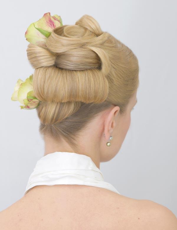 Прически свадебные для длинных тяжелых волос