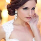 Хороший вариант свадебной прически для коротких волос