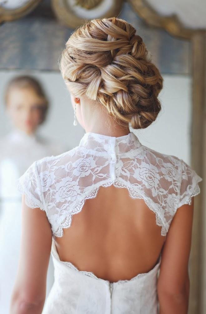 Свадебные прически лучшее