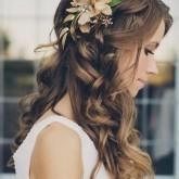 Романтичный и нежный образ для невесты