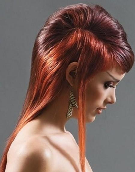 женские креативные стрижки фото на длинные волосы