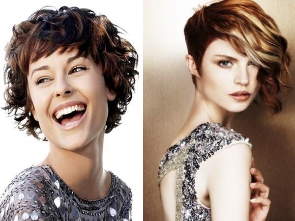 Прически для девочек с короткими кудрявыми волосами фото