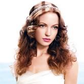 Романтичный облик с распущенными волосами