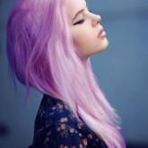 Красивый пастельный оттенок волос