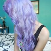 Яркий цвет волос - основа эпатажа