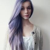 Красивый перламутровый цвет волос
