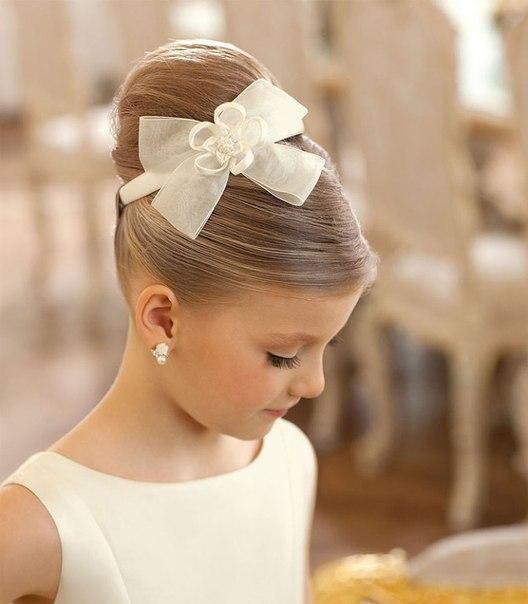 Причёски для девочки на выпускной