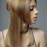 Интересное сочетание разной длины волос