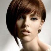 Необычная стрижка для коротких волос