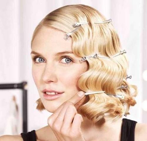 Прически укладки для средних волос
