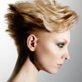 Необычная укладка волнами на короткие волосы