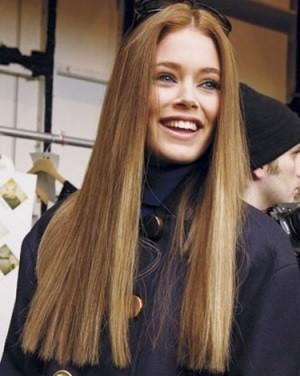 Ровные длинные волосы