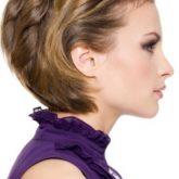 Интересный вариант для коротких волос