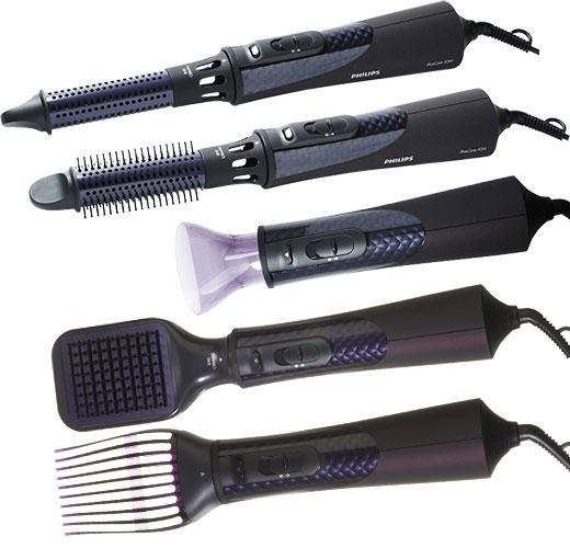 Плойка-фен для волос