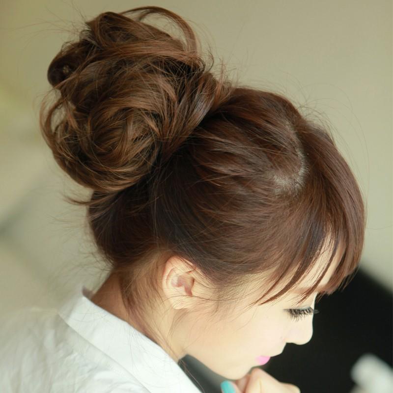 Пучок из волос описание